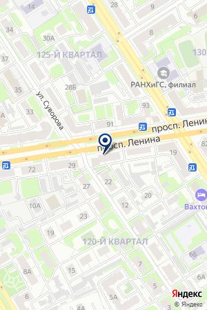 АГЕНТСТВО НАРУЖНАЯ РЕКЛАМА на карте Дзержинска