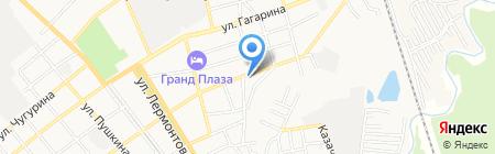 Детский сад №5 Росинка на карте Георгиевска