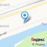 Алла на карте Дзержинска