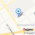 Уютный дом на карте Дзержинска