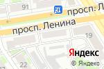 Схема проезда до компании Центр крепежа в Дзержинске