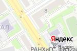 Схема проезда до компании Полина в Дзержинске