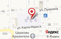 Схема проезда до компании Детский сад №9 в Марьинской