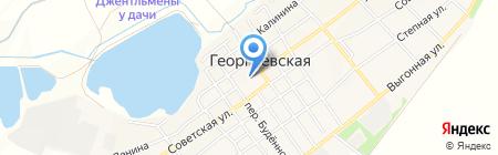Сельский дом культуры на карте Георгиевской
