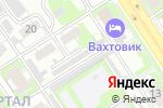 Схема проезда до компании Parts Motors в Дзержинске