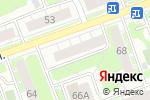 Схема проезда до компании Конамагазин Мебель в Дзержинске