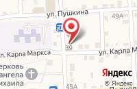 Схема проезда до компании Почтовое отделение №2 в Марьинской