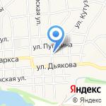 Почтовое отделение №2 на карте Пятигорска (КМВ)