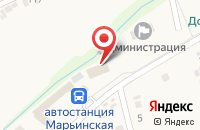 Схема проезда до компании Почтовое отделение №10 в Марьинской