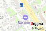 Схема проезда до компании Компикс в Дзержинске