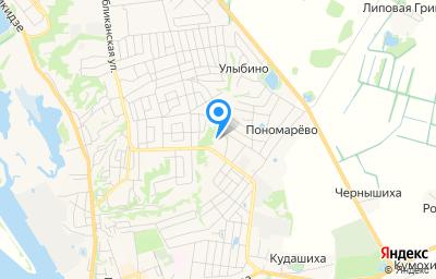 Местоположение на карте пункта техосмотра по адресу Нижегородская обл, г Городец, ул Дорожная, д 1