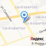 Развитие на карте Дзержинска