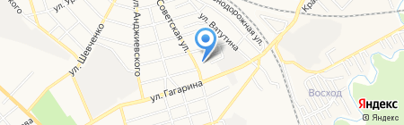 Церковь Евангельских христиан-баптистов на карте Георгиевска
