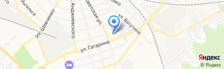 Детский сад №28 Красная шапочка на карте Георгиевска
