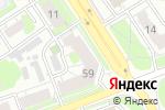Схема проезда до компании В защиту детства в Дзержинске