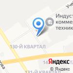 Шиномонтажная мастерская на карте Дзержинска