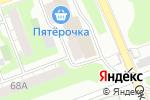 Схема проезда до компании Клевер в Дзержинске