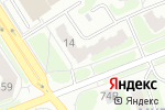 Схема проезда до компании CyberPlat в Дзержинске