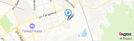 Слон на карте Георгиевска