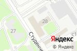 Схема проезда до компании АВЕНТА в Дзержинске