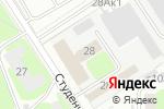 Схема проезда до компании ИТ-СЕРВИС в Дзержинске