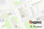 Схема проезда до компании Стабфур Хром в Дзержинске