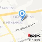 Дзержинскгоргаз на карте Дзержинска