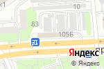 Схема проезда до компании Корея-Китай в Дзержинске