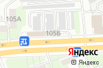 Схема проезда до компании Мебельный микс в Дзержинске