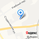 Лагуна на карте Дзержинска