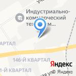 Юникор на карте Дзержинска