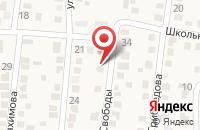Схема проезда до компании Мирошников В.А. в Краснокумском