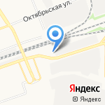 ЛУКОЙЛ на карте Дзержинска