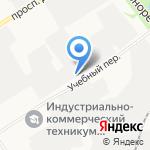 Стройпроект на карте Дзержинска
