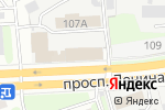 Схема проезда до компании Газпром газораспределение Нижний Новгород в Дзержинске