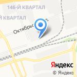 Овоще-фруктовый склад на карте Дзержинска