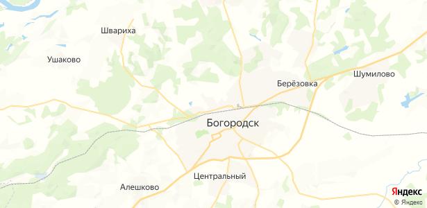 Песочное на карте