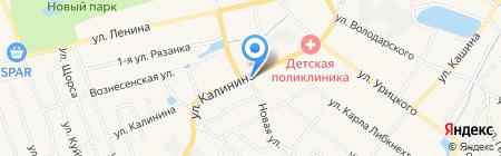 Киоск по продаже хлебобулочных изделий на карте Богородска