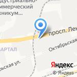 Гермаст на карте Дзержинска