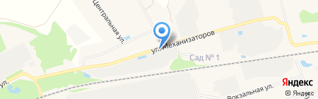 Центр автоуслуг на ул. Механизаторов на карте Богородска