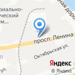 Жара на карте Дзержинска