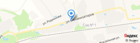 Компания по порошковой окраске на карте Богородска