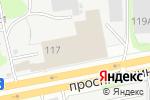 Схема проезда до компании Строительная компания в Дзержинске