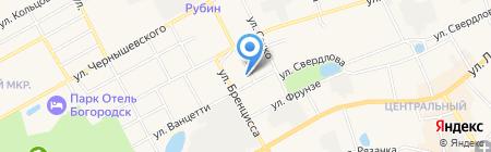 Детский сад №12 на карте Богородска