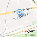 Дзержинский мясокомбинат на карте Дзержинска