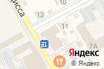 Схема проезда до компании Мир дверей в Богородске