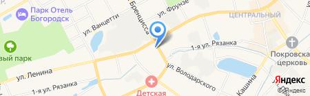 ИНТЕРИКА на карте Богородска