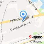 База строительных материалов на карте Дзержинска