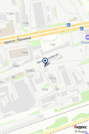 СРЕДНЕВОЛЖСКАЯ ГЕОЛОГОРАЗВЕДОЧНАЯ ЭКСПЕДИЦИЯ на карте Дзержинска
