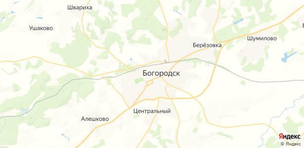 Богородск на карте